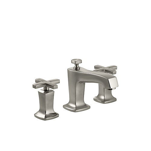 Margaux(R) widespread bathroom sink faucet with cross handles
