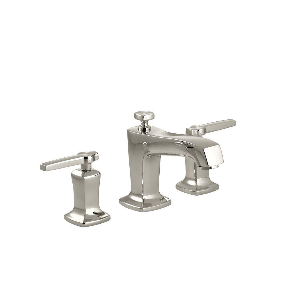 KOHLER Margaux(R) widespread bathroom sink faucet with lever handles