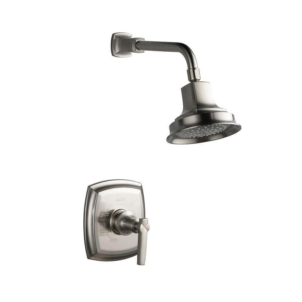 KOHLER Garniture de robinet pour douche de la collection Margaux Rite-temp, avec poignée à volant