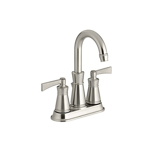Archer(R) centerset bathroom sink faucet with lever handles