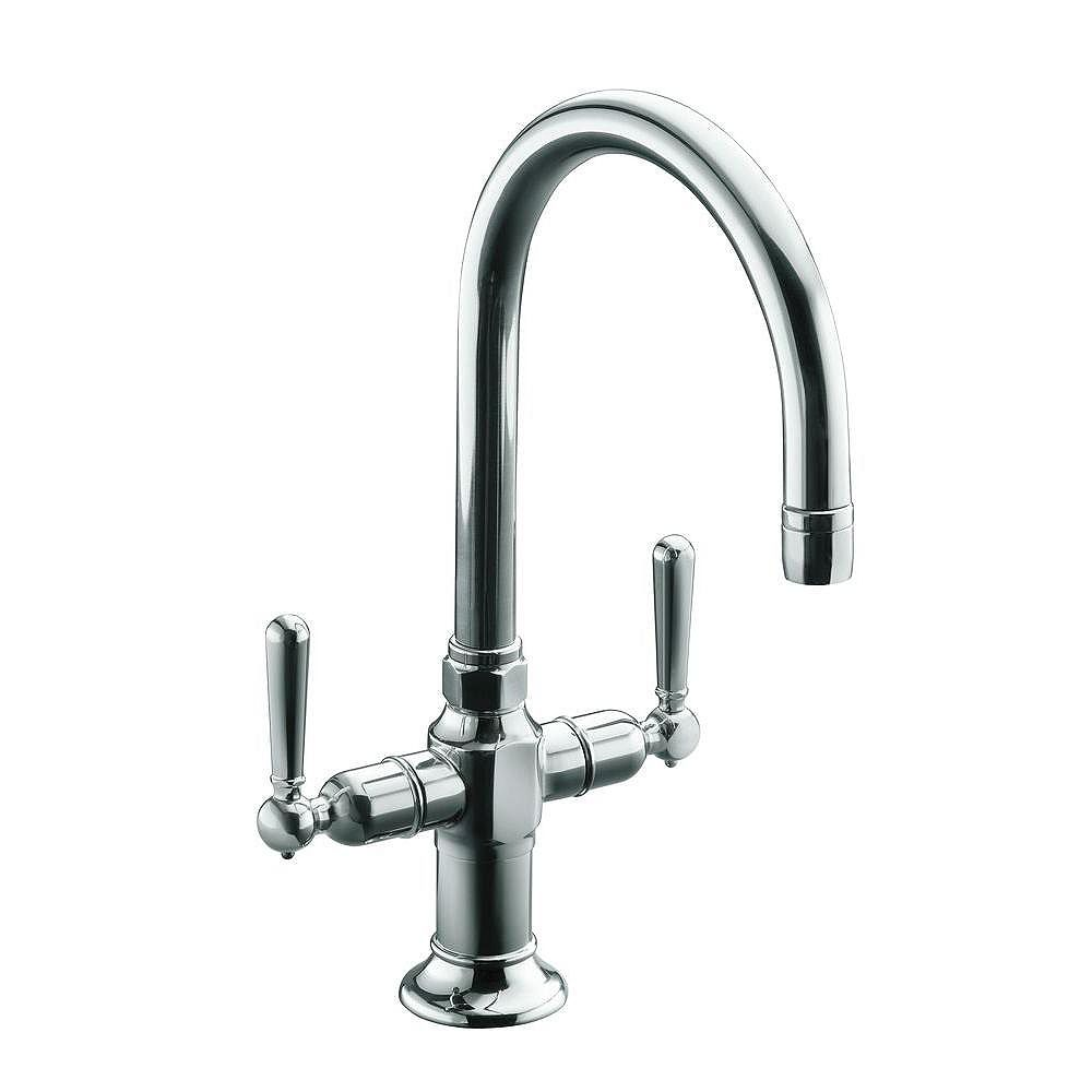 Kohler Hirise Tm Single Hole Bar Sink Faucet With Lever Handles The Home Depot Canada