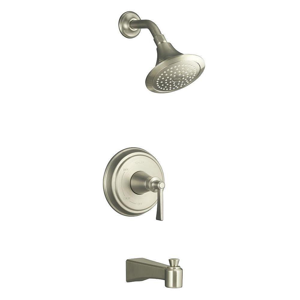 KOHLER Garniture de robinet de bain et de douche Archer avec levier, valve non incluse
