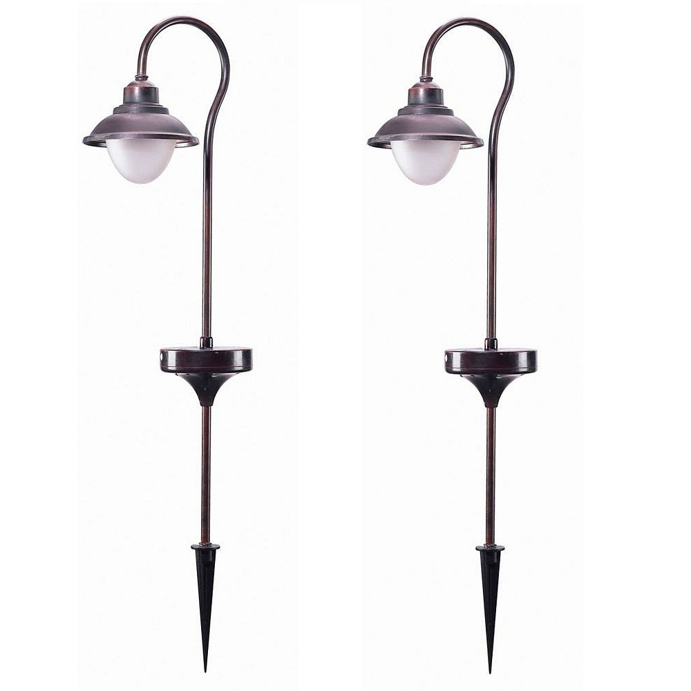 Fusion Nautical Solar Stake Light (2-Pack)