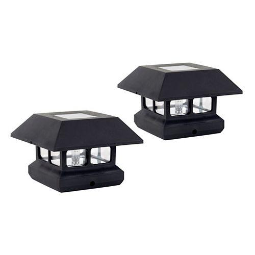 Lampes solaire pour poteau de clôture (jeu de 2)