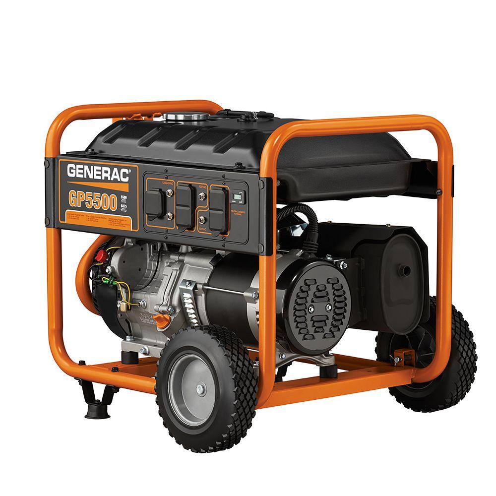 Generac GP 5500W Portable Generator