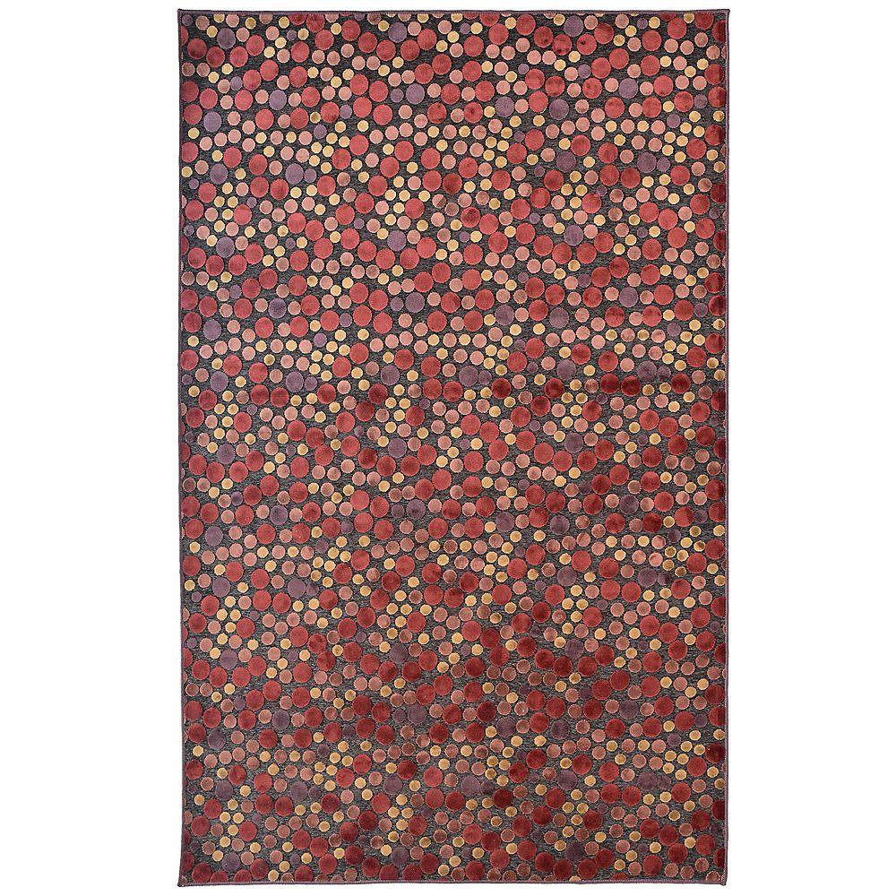 Lanart Rug Autumn Red 2 ft. 6-inch x 7 ft. 8-inch Runner