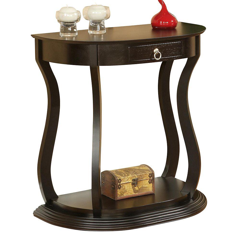 WHI Ophelia-Console Table-Dark Walnut