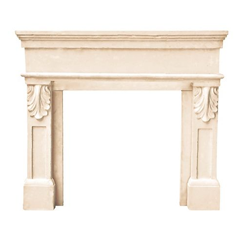 Historic Mantels Designer Series Paris Cast Stone Mantel