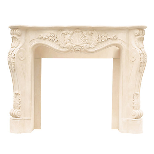 Designer Series Louis XIII Cast Stone Mantel