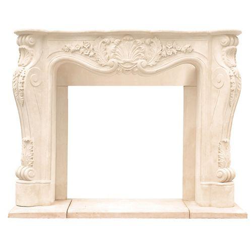 Historic Mantels Chateau Series Louis XIII Cast Stone Mantel