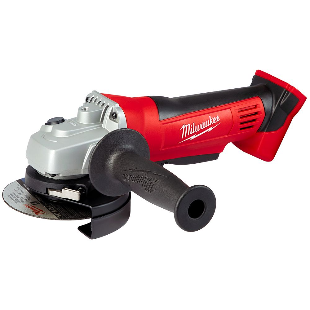 Milwaukee Tool M18 18V Lithium-Ion Cordless 4-1/2-inch Cut-Off Saw / Grinder (Tool Only)
