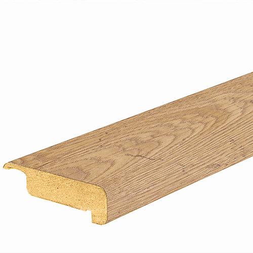Nez de marche en stratifié, chêne prêle