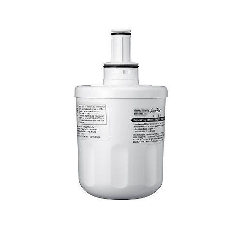 Filtre à eau d'origine pour réfrigérateur côte à côte et porte-fenêtre