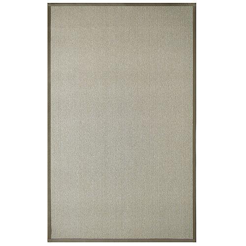 Sisal Beige Tan 4 ft. x 6 ft. Indoor Contemporary Rectangular Area Rug