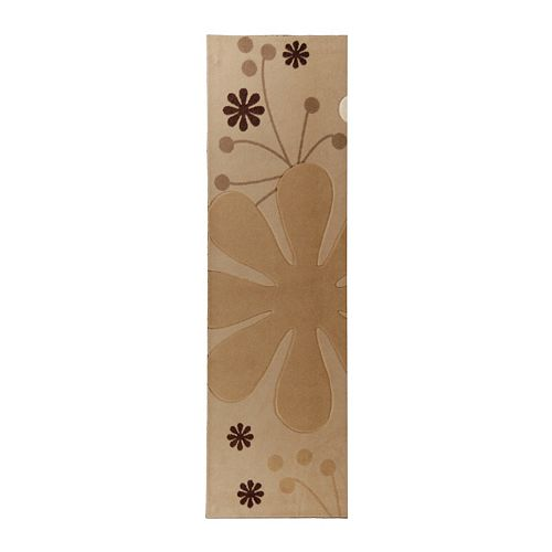 Lanart Rug Urban Bloom Beige Tan 2 ft. x 8 ft. Indoor Runner