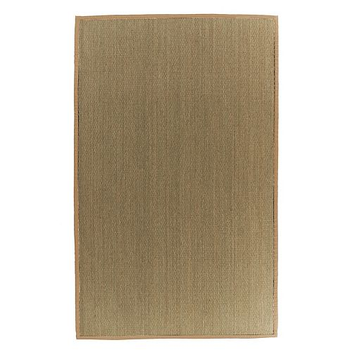Lanart Rug Natural Seagrass Green 9 ft. x 12 ft. Indoor Textured Rectangular Area Rug