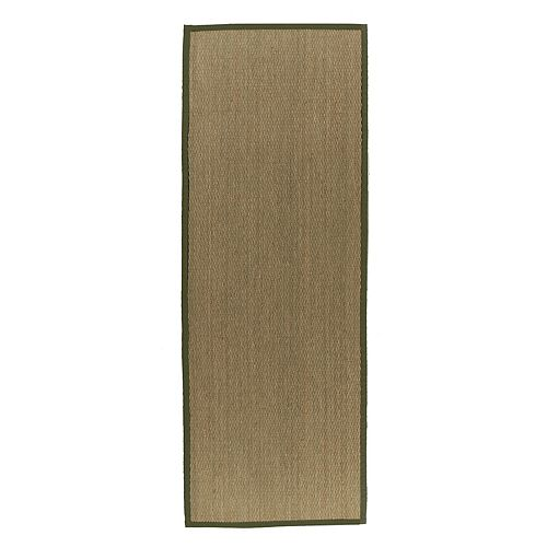 Lanart Rug Natural Seagrass Beige Tan 2 ft. 6-inch x 8 ft. Indoor Textured Runner