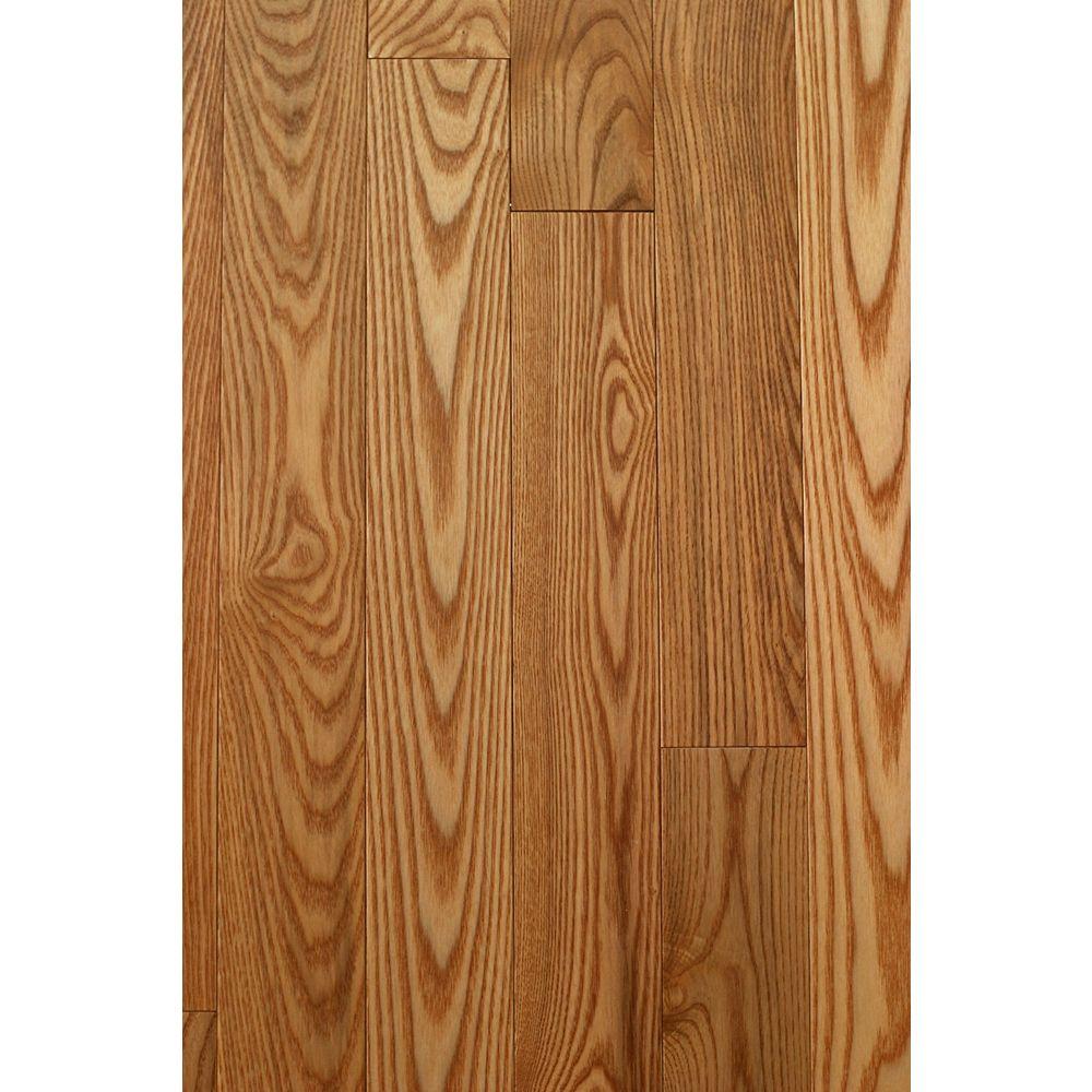 Mistral Ash-Bourbon Solid Hardwood Flooring