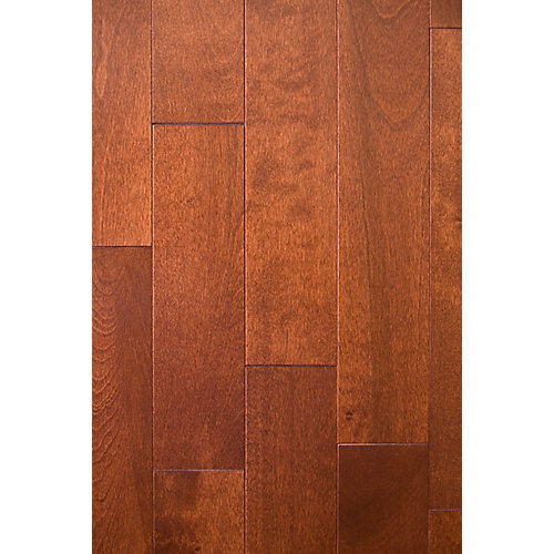 Birch-Paprika Solid Hardwood Flooring