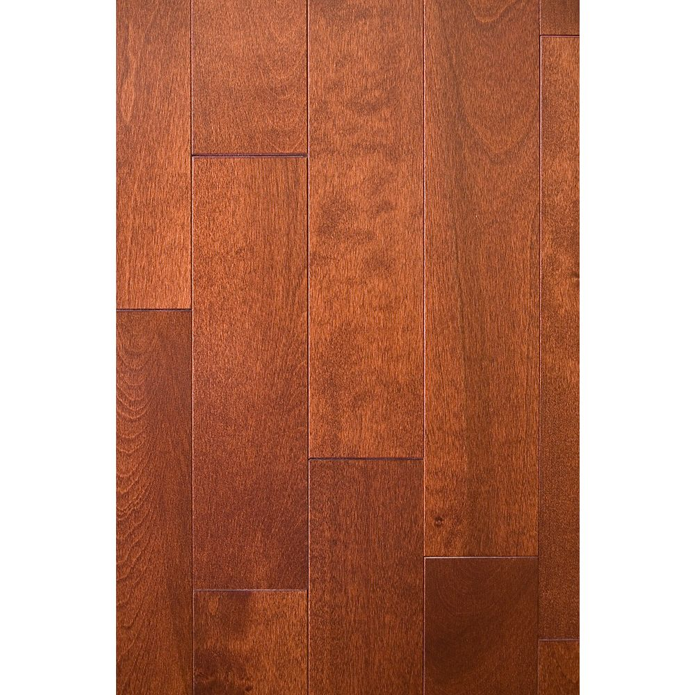 Mistral Birch-Paprika Solid Hardwood Flooring