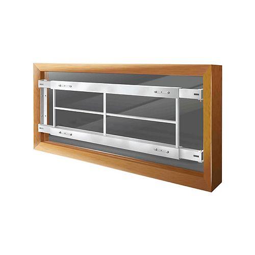 Mr. Goodbar Barre pour fenêtre fixe 201 C, 52-64