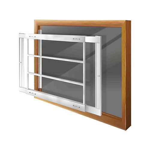 203 D 21-inch to 28-inch W Removable Window Bar
