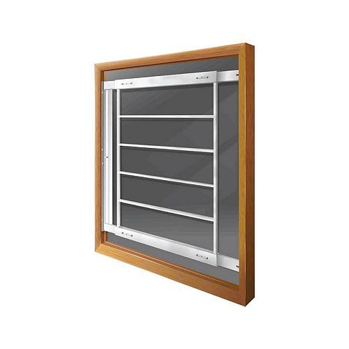 Mr. Goodbar 202 E 29-inch to 42-inch W Hinged Window Bar
