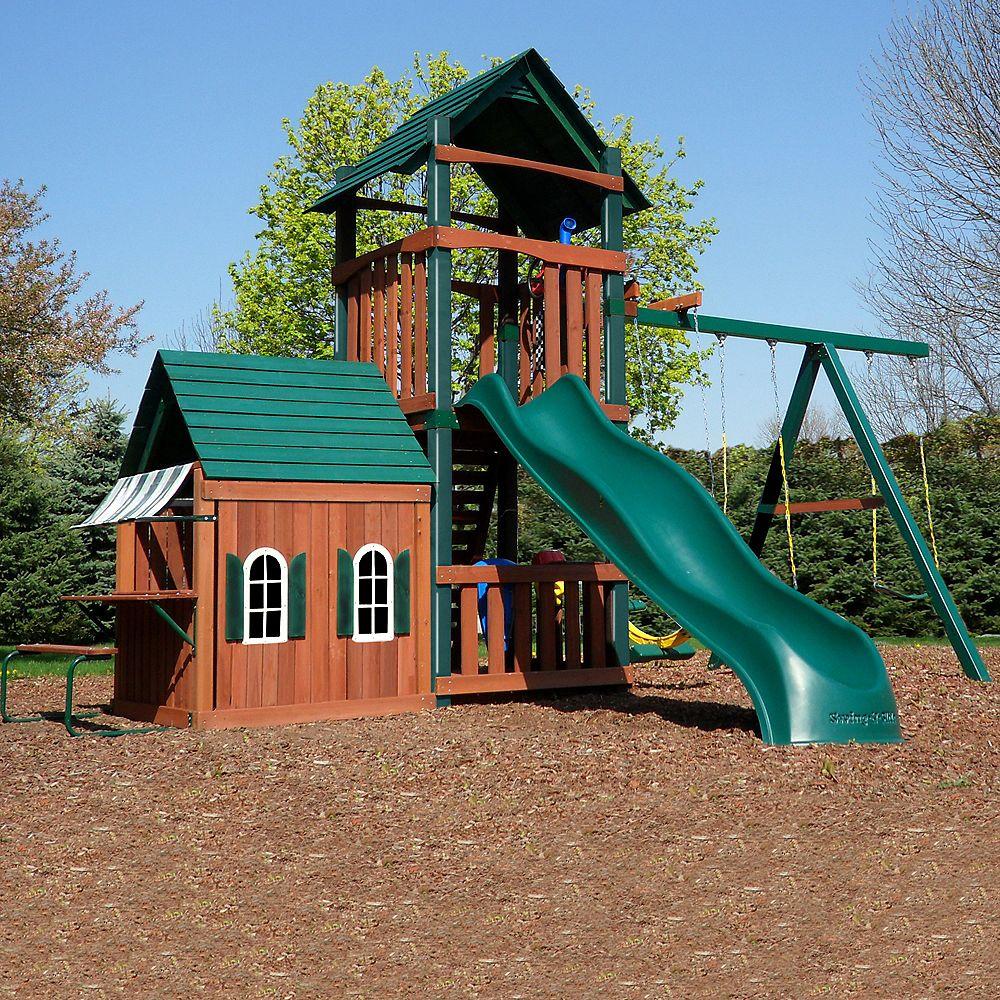 Swing-N-Slide Grand Tower Playhouse
