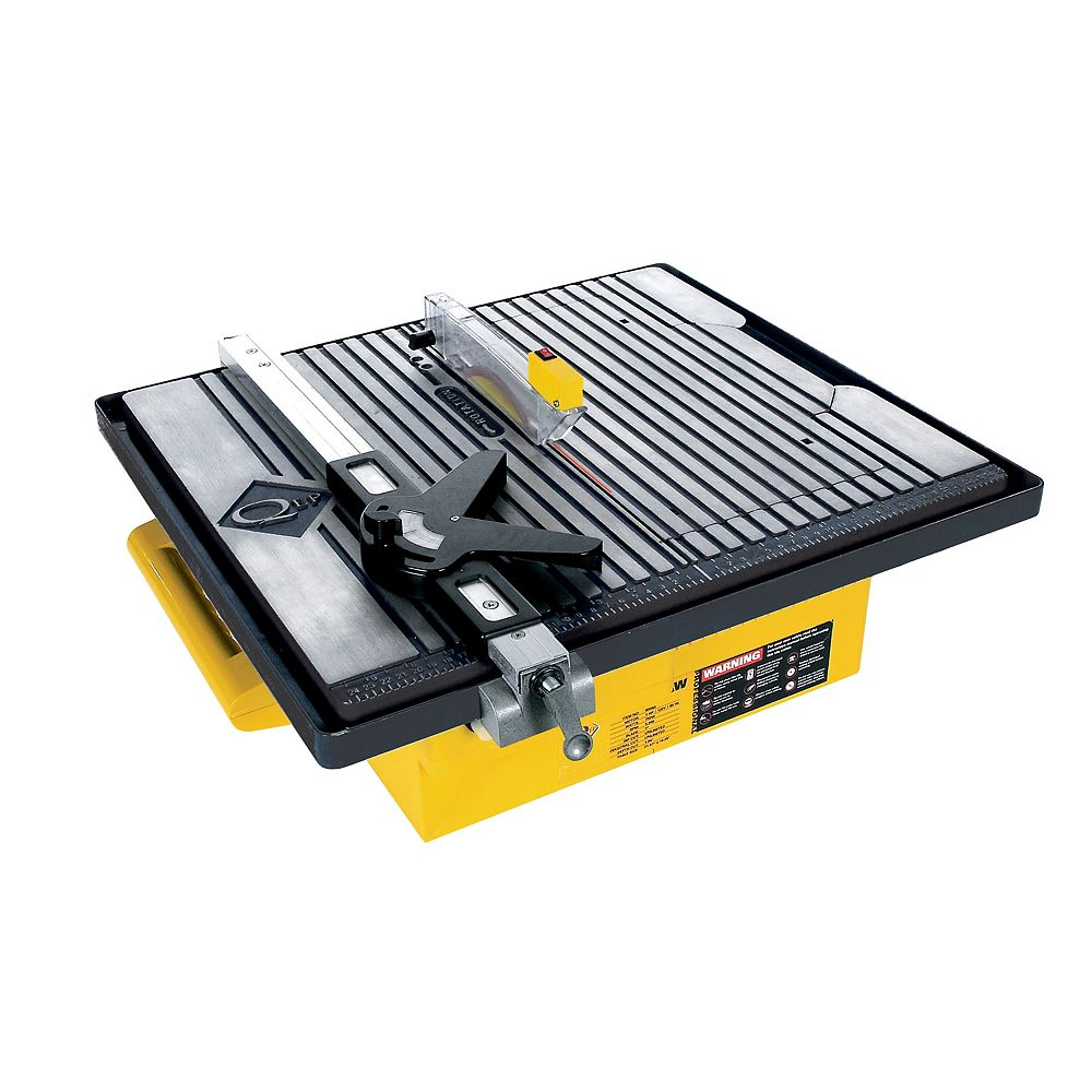 QEP 7-inch Professional Tile Saw with Water System and Laser Guide