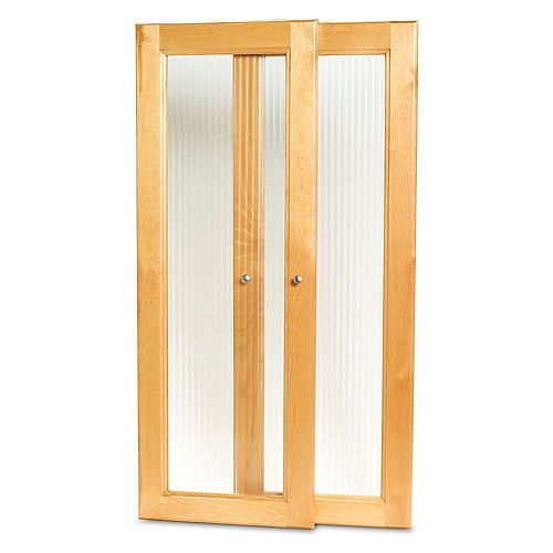 Deluxe Tower Door Kit- Honey Maple