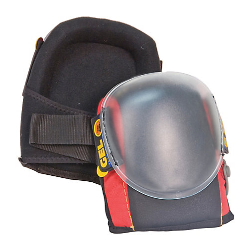 Quick-Cap Knee Pads, Air Injected Gel Comfort, 1 Pair