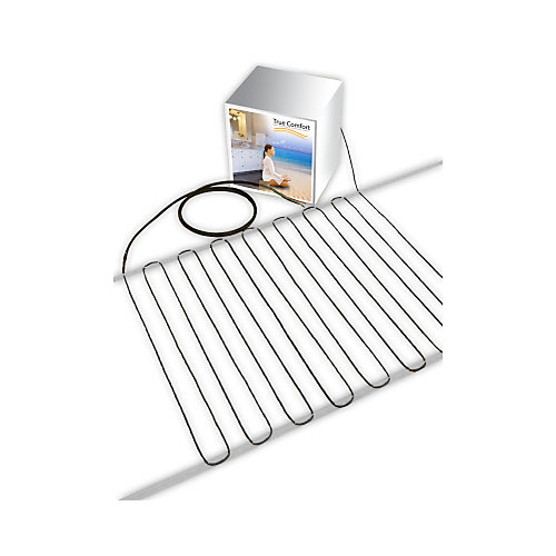 240-V Floor Heating Cable - Covers from 64 up to 82 sf depending on chosen spacing