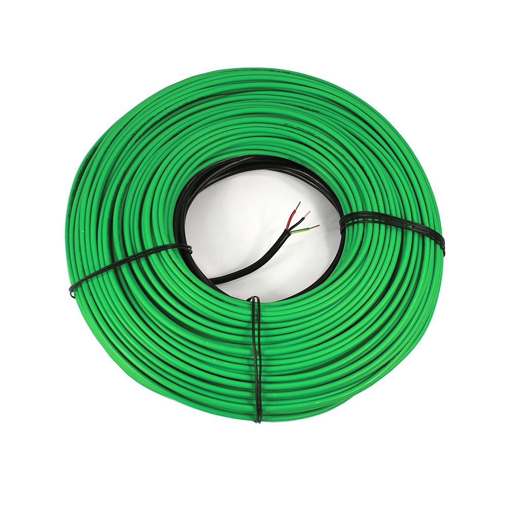WarmlyYours 120V Snow Melting Cable for 31.5 sq. ft.