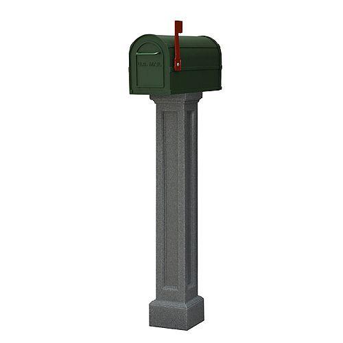 Poteau de boîte aux lettres Bradford (granite)