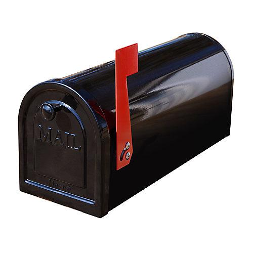 Boîte aux lettres en acier standard de Mayne  noir