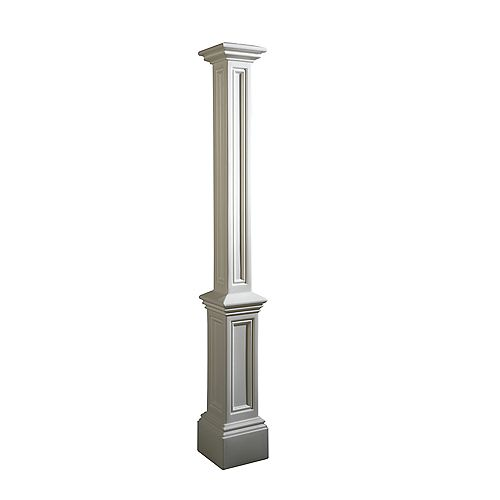 Signature Lamp Post - White no mount