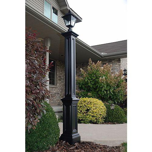Signature Lamp Post - Black w/Mount