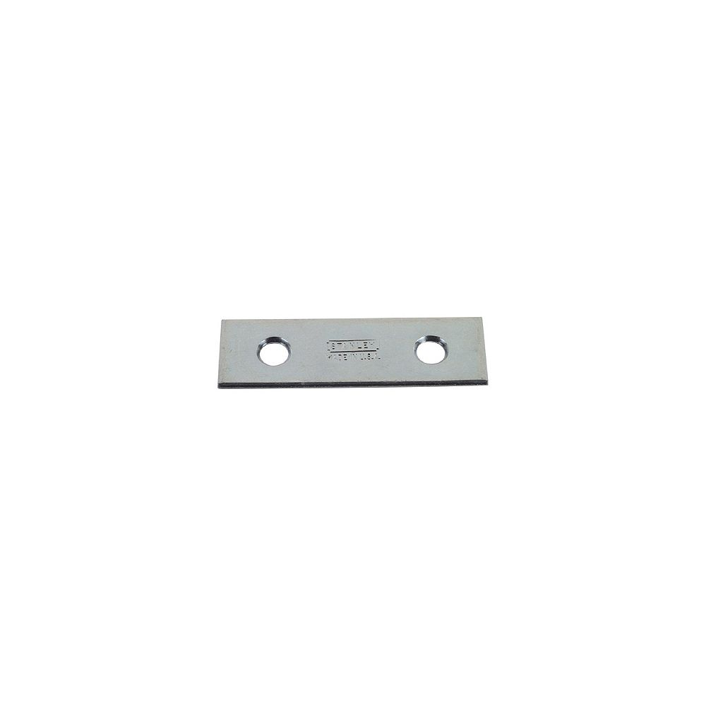STANLEY 1-1/8 In. x 6 In. Zinc Plated (2c) Mending Plate