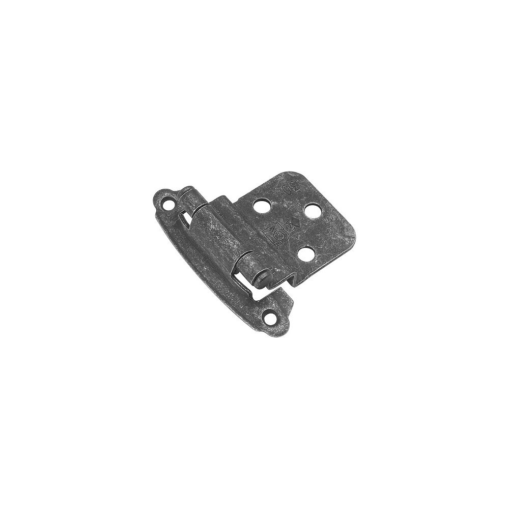 Belwith Hinges 3/8 In. Offset, Pewter Finish