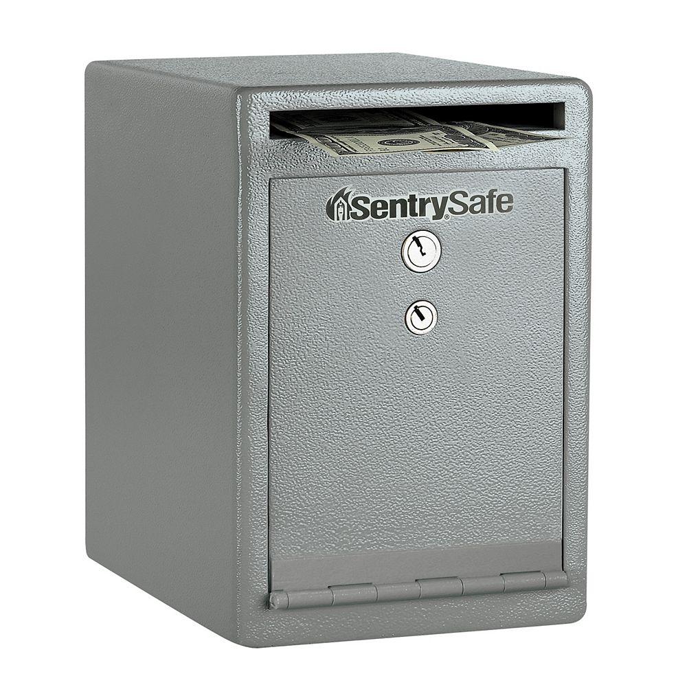 Sentry Safe Coffre-fort de sécurité de dépôt à fente sous le comptoir