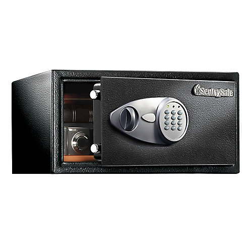 Security Safe with Electronic Lock, 1.0 cu.ft.