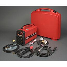 Source de courant de soudage Invertec V155-S avec électrode enrobée/TIG
