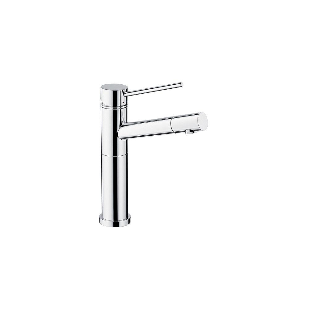 Blanco ALTA BAR/PREP, Solid Spout Bar Faucet, 2.2 GPM flow rate, Chrome