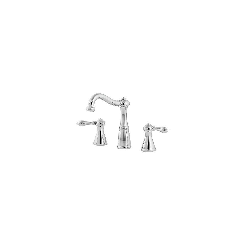 Pfister Robinet de lavabo à entraxe de 8 po Marielle - Chrome poli