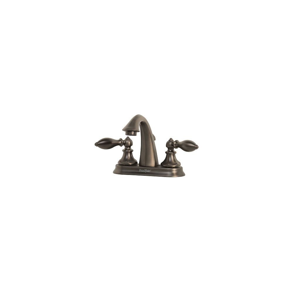 Pfister Robinet de lavabo Catalina à entraxe fixe de 4 po doté de 2 poignées- Bronze huilé