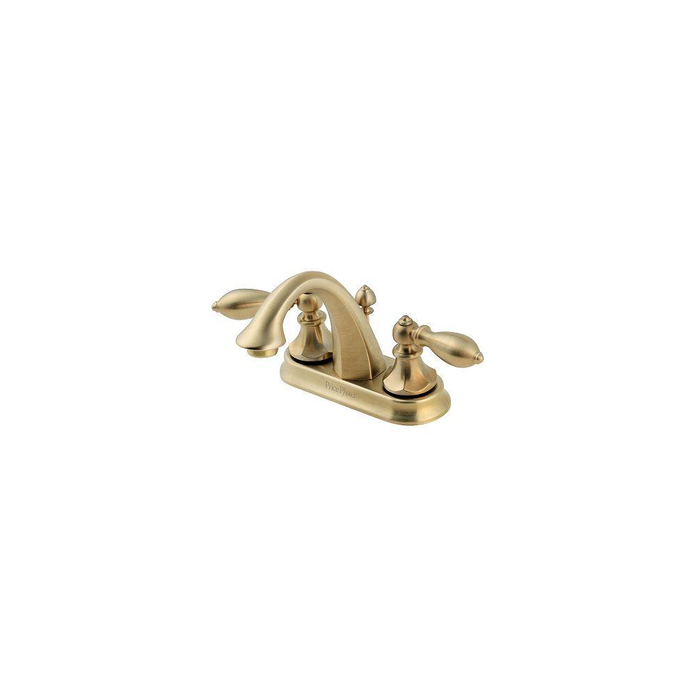 Pfister Robinet de lavabo Catalina à entraxe fixe de 4 po- Bronze rustique