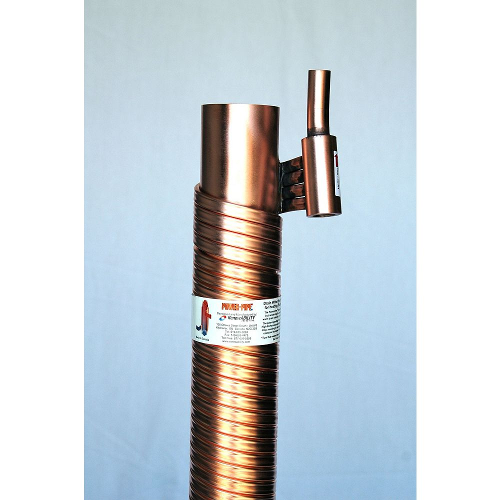 Power-Pipe R3-42 Drain Water Heat Recovery Unit