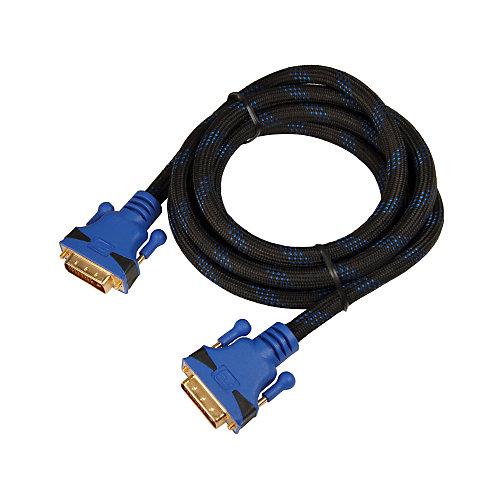 Câble à haute définition DVI À DVI - 2 mètres