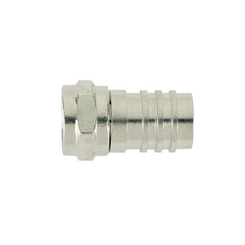 Connecteur de câble coaxial RG-59 pour fiche à sertir de série F, paquet de 10