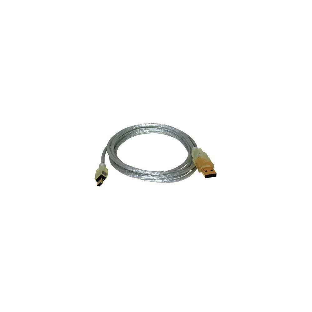 OMEGA USB mini de 5P - 2 mètres